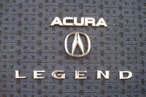 Jdm Emblem On A Usdm Ka7 The Acura Legend Amp Acura Rl Forum