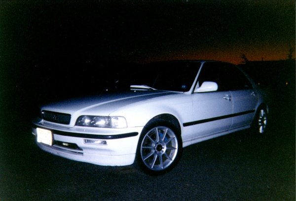 My Frost White 91 L Sedan at Sunset-aab.sized.jpg