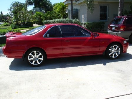 1995 Acura Legend on 18  Chrome A Spec Rims   Page 2   The Acura Legend   Acura Rl Forum