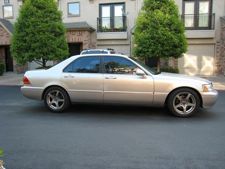 New Wheels And Suspension On RL The Acura Legend Acura RL Forum - Acura rl wheels