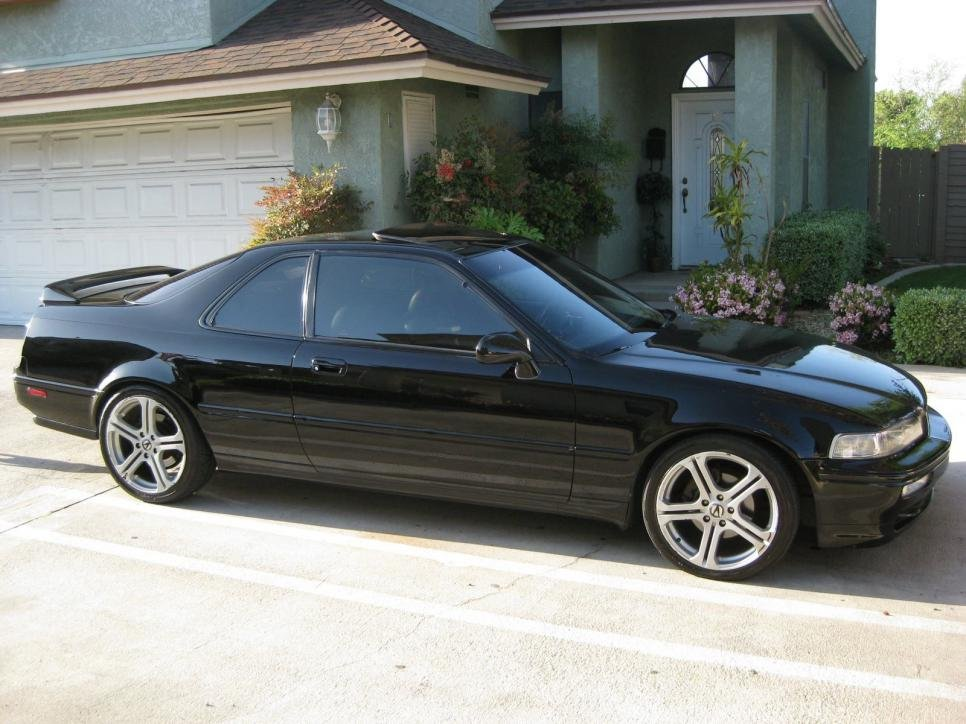 D Fs Acura Legend Black Black Speed Ls Coupe Lgnd