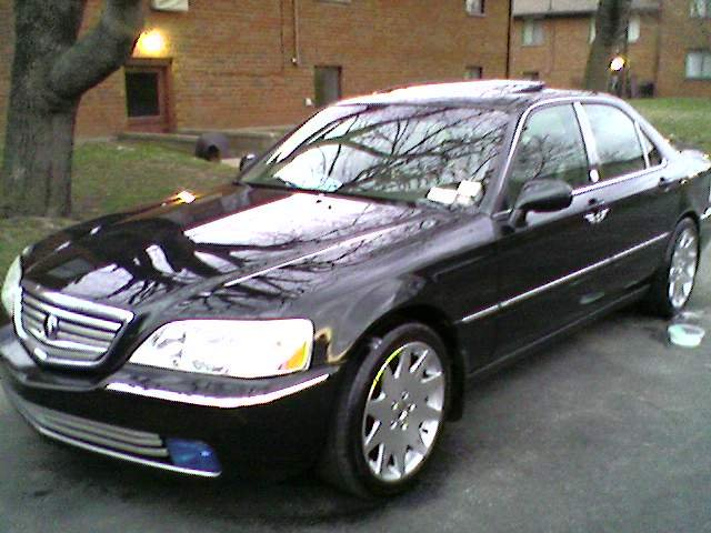 Heres A Pic Of My Rl With Mrr The Acura Legend Acura RL Forum - 2006 acura rl grill