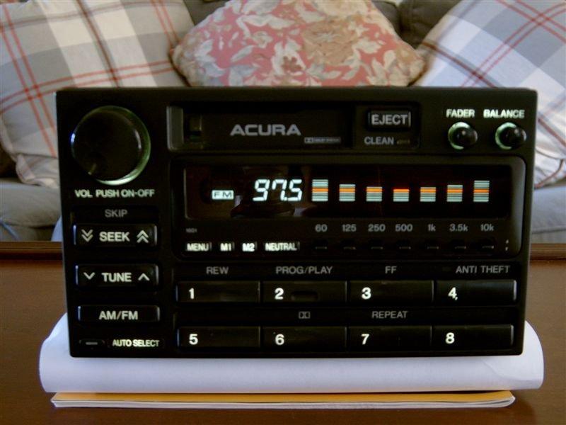 Bose Radio Illumination The Acura Legend Acura RL Forum - Acura legend radio