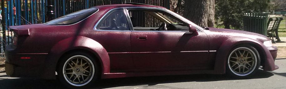 D Just Finished Wide Body Custom Coupe Tell Me What You Think Red