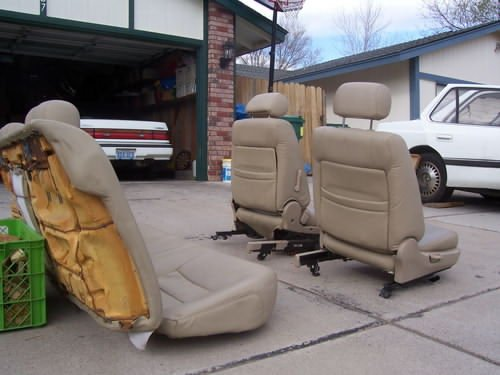 G Tan Sedan Seats For Sale The Acura Legend Acura RL Forum - Acura legend seats for sale