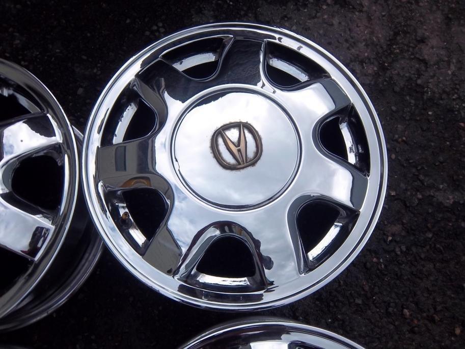 Chrome Inch Spoke Oem Factory Rims The Acura Legend Acura - Acura factory rims